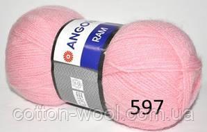 Yarnart Angora Ram  597 40% мохер, 60% акрил