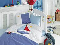 """Детское постельное белье ранфорс Cotton Box с Вышивкой """"Yelkenli"""""""