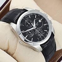 Мужские наручные часы Tissot T - Sport Black/Silver/Black AAA
