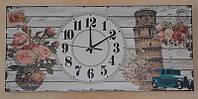 Часы прованс настенные