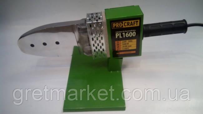 Паяльник для пластиковых труб Procraft PL 1600