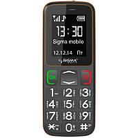 Телефон Sigma Comfort 50 mini3 Grey-Orange (бабушкофон) ' ' ', фото 1
