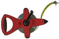Рулетка CST стальная 100 м с нейлоновым покрытием