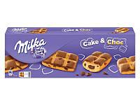 Кекс Milka Cake & Choc с молочным шоколадом внутри, 175 г, фото 1