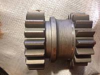Шестерня подвижная 75.37.106А Z=18 и Z=20 тракторной коробки перемены передач КПП