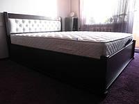 Кровать Вера с ПМ кожзам, фото 1