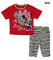 Летний костюм Minnie Mouse для девочки. 1-2 года