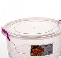 AL-Plastik Контейнер пищевой круглый 2,1л