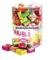 Жевательная конфета Frubi Кубик 100 шт (Sumi)