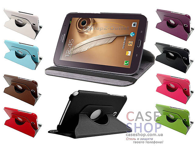 Откидной чехол для Samsung n5100 Galaxy Note 8.0 с разворотом на 360