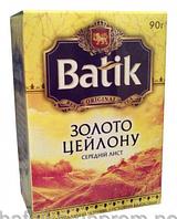 Чай Батик Золото Цейлона 90г черн.