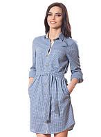 Модное платья-рубашка, фото 1