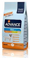 Корм ADVANCE (Эдванс)Dog Mini Adult для взрослых собак мелких пород, 800 г
