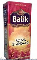 Чай Батик Королевский стандарт 25*2г черн