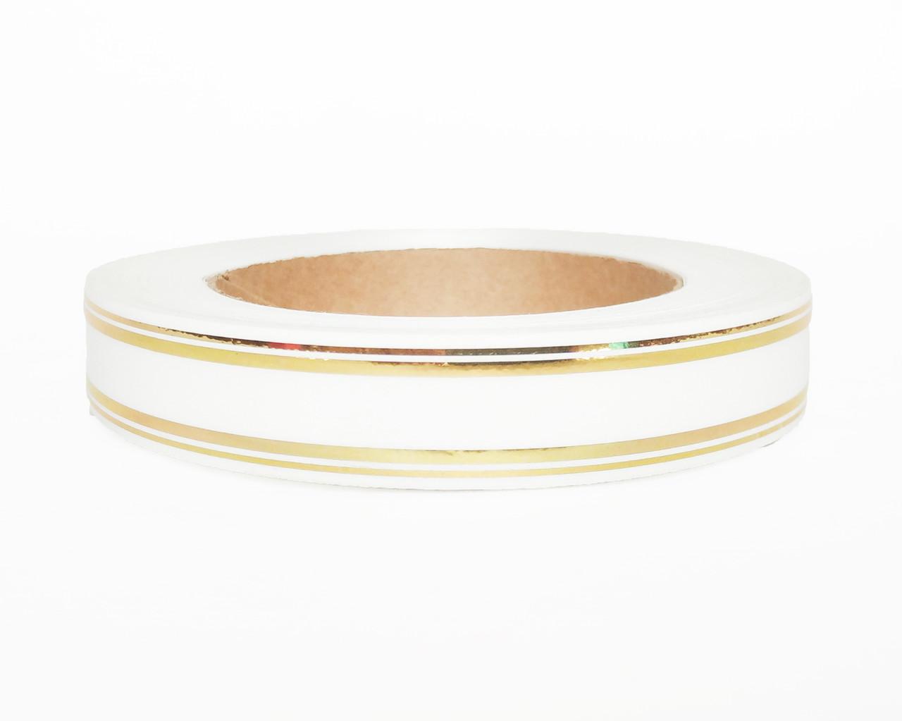 Флористична стрічка біла (2см х 50ярдов)