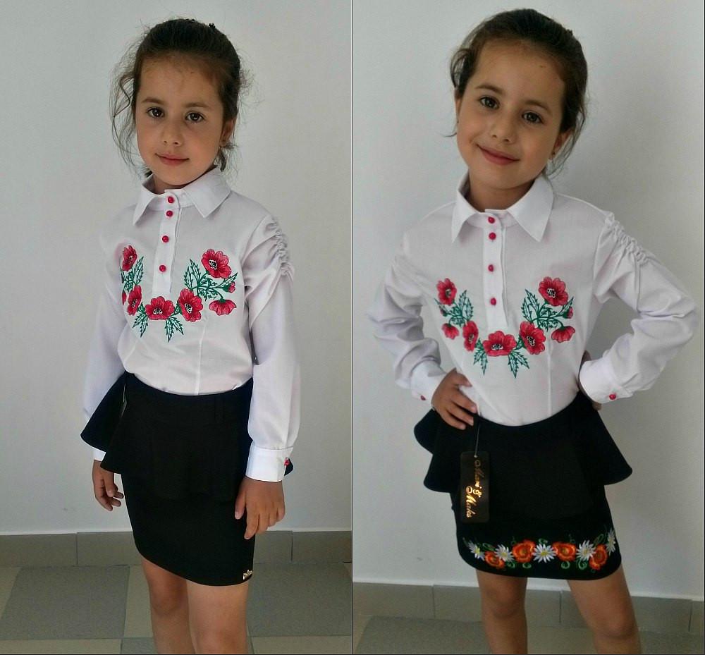 Блузки на девочку купить
