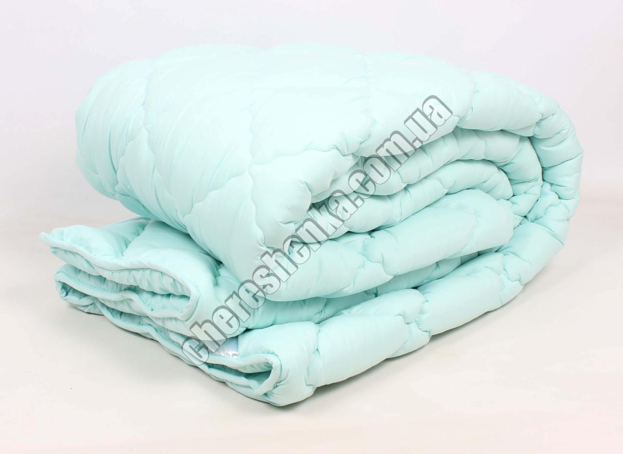 Двуспальное одеяло микрофибра/шерсть 004