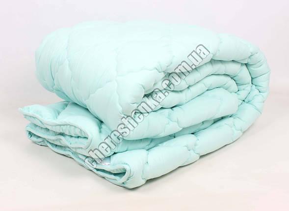 Двуспальное одеяло микрофибра/шерсть 004, фото 2