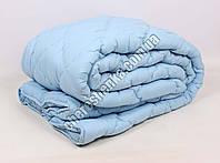 Двуспальное одеяло микрофибра/шерсть 005