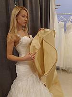 Чехлы для свадебных платьев