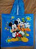 Полотенце-пончо с капюшоном Микки Маус