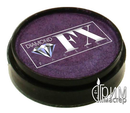 Аквагрим Diamond FX металлик фиолетовый, фото 2