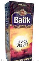 Чай Батик Черный бархат 25*2г черн.