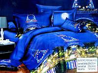 5D Постельное белье Евро размера East Comfort - Эйфелева башня