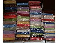 Фабричная махровая простынь на резинке 130х240 см на матрас 90х200 см
