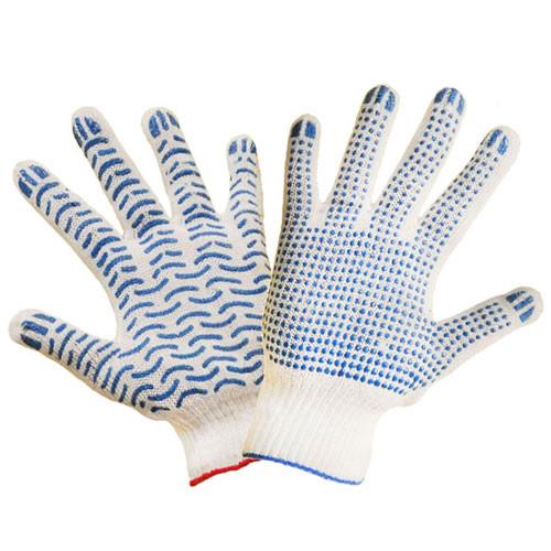 Перчатки с ПВХ точкой