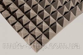 MAPPYSIL PIRAMIDALE-70, панель 1000х1000х70 мм, рельеф - пирамида