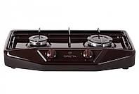 Домашняя газовая плита Грета - коричневая
