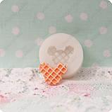Силиконовый молд на мини-вафельку, фото 3