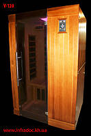 ИК сауна V 120 Нет, Да, Тонированное стекло, Да, 1230.0, Да, Прямая, Канадский Хэмлок, Канадский красный кедр, 1.9, Да, 220.0, Да, Да, 1050.0