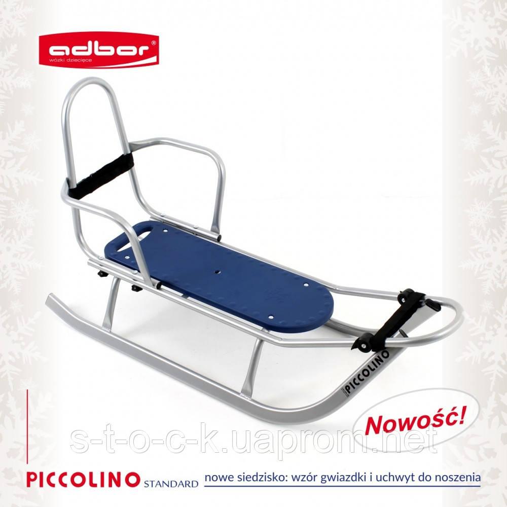 Санки  со спинкой Adbor Piccolino для детей