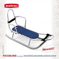 Санки  со спинкой Adbor Piccolino для детей, фото 1