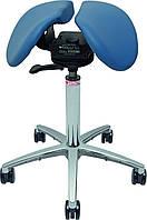 Salli Swing Эргономичный стул седло c ортопедическим эффектом (кожа), фото 1