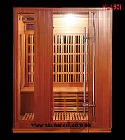 Трехместная инфракрасная сауна «HL150i»