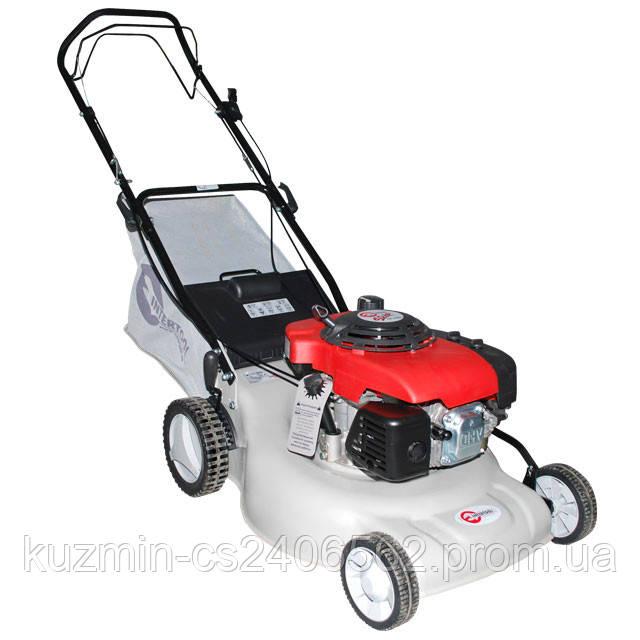Газонокосилка бензиновая для травы 6.0HP 4.5кВт ширина среза 500мм самоходная INTERTOOL LM-6050