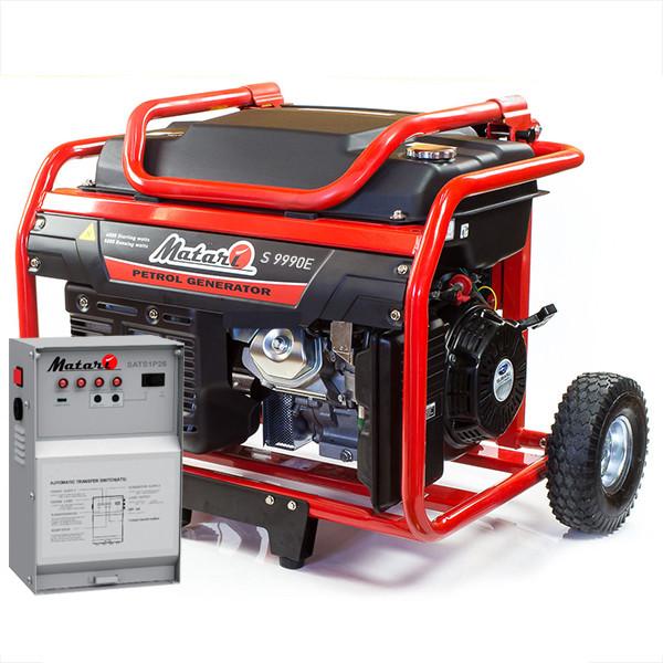 ⚡MATARI S9990E-ATS S Series (7,5 кВт) + Автозапуск