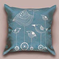 Декоративная подушка Птичка