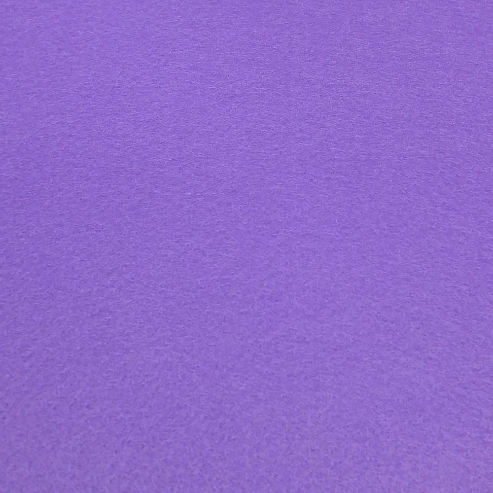 Фетр корейский жесткий 1.2 мм, 22x30 см, ТЕМНО-СИРЕНЕВЫЙ 847