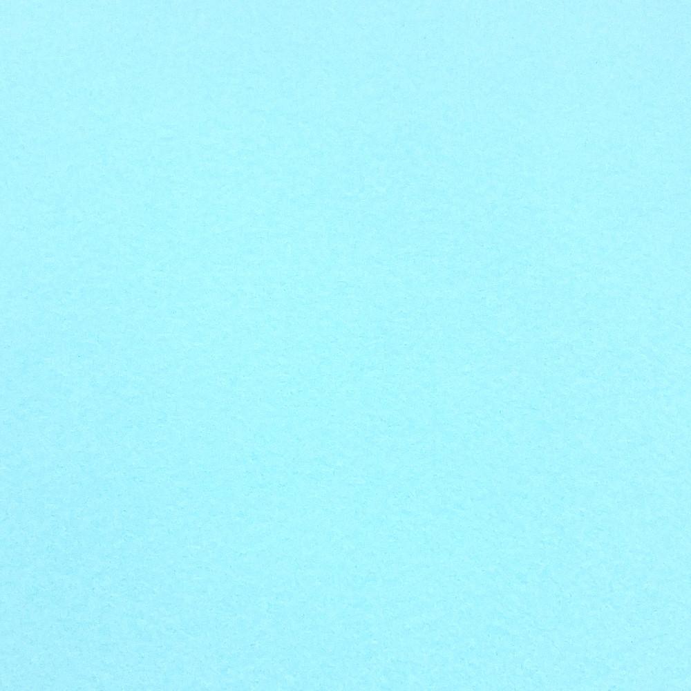 Фетр корейский жесткий 1.2 мм, НЕБЕСНЫЙ 851, 1 х 1.1 м, на метраж