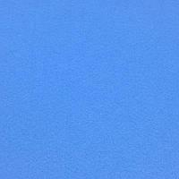 Фетр корейский жесткий 1.2 мм, ГОЛУБОЙ 853, 1 х 1.1 м, на метраж