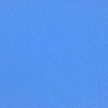 Фетр корейська жорсткий 1.2 мм, БЛАКИТНИЙ 853, 1 х 1.1 м, на метраж