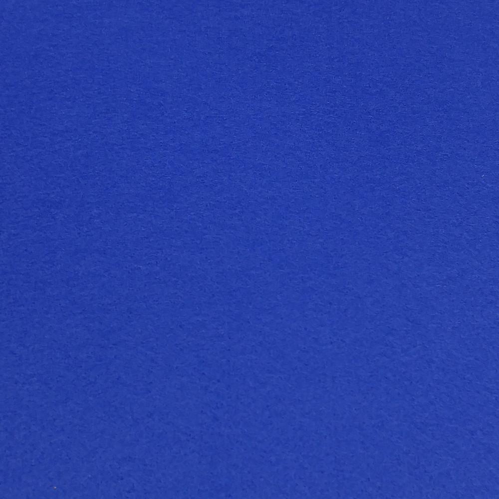 Фетр корейский жесткий 1.2 мм, СИНИЙ 855, 1 х 1.1 м, на метраж