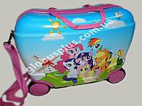 Детский чемодан на 4 колесах Пони, Poni, 520267