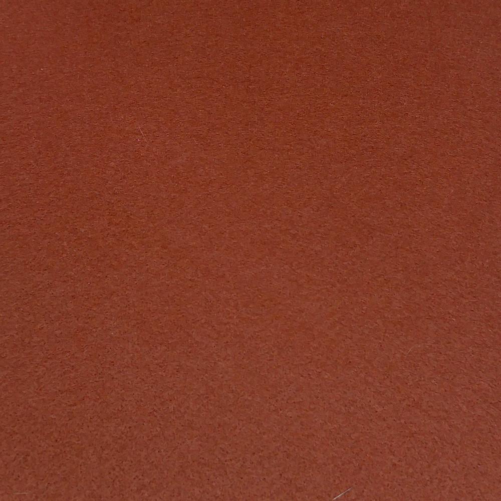 Фетр корейский жесткий 1.2 мм, 22x30 см, КОРИЧНЕВЫЙ 883