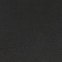 Фетр корейский жесткий 1.2 мм, ЧЕРНЫЙ 902, 1 х 1.1 м, на метраж