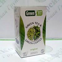Green FIT Зеленый чай и зеленый кофе для похудения 25*2г